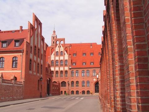 Chełmno, dawny cystersko-benedyktyński zespół klasztorny, fot. Elżbieta Pawelec