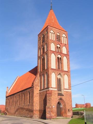 Chełmno, kościół pw. Ducha Świętego przy ul. Wałowej, fot. Elżbieta Pawelec
