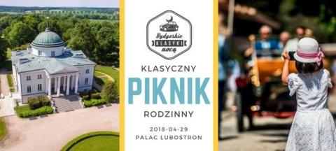 Galeria dla Bydgoskie Klasyki Nocą - Klasyczny Piknik Rodzinny rozpoczynający sezon klasyków w regionie.