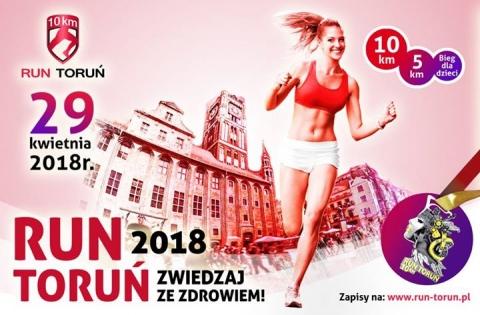 """Galeria dla Bieg masowy """"10 km RUN TORUŃ-Zwiedzaj ze Zdrowiem 2018"""""""