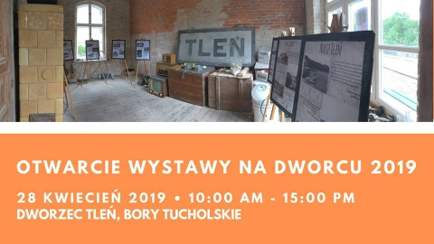 Galeria dla Otwarcie Wystawy na Dworcu w Tleniu