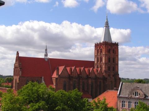 Chełmno, kościół farny pw. Wniebowzięcia NMP, fot. Elżbieta Pawelec