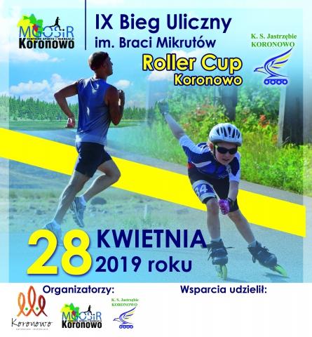 Galeria dla IX Ogólnopolski Bieg Uliczny im. Braci Mikrutów/ I Roller Cup Koronowo