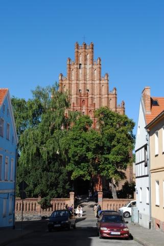 Chełmno, kościół podominikański pw. św. Piotra i św. Pawła przy ul. Wodnej , fot. Elżbieta Pawelec