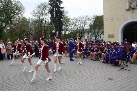 Koncert  Orkiestry Dętej Chełmińskiego Domu Kultury  przy Bramie Grudziądzkiej, 3 maja