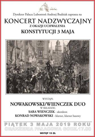 Galeria dla Koncert Nadzwyczajny z okazji uchwalenia Konstytucji 3 Maja