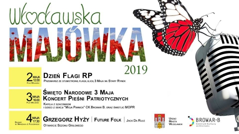 Galeria dla Włocławska Majówka –  Dzień Flagi Rzeczypospolitej Polskiej