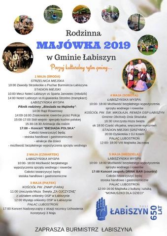 Galeria dla Rodzinna Majówka 2019 w Gminie Łabiszyn