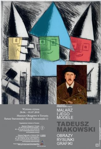 Galeria dla MALARZ I JEGO MODELE. Tadeusz Makowski. Obrazy, rysunki, grafiki