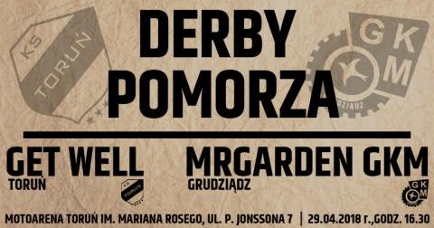 Galeria dla PGE Ekstraliga derby Pomorza KS Get Well Toruń - GKM MrGarden Grudziądz