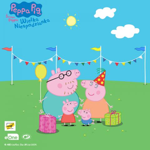 Galeria dla Świnka Peppa - Wielka Niespodzianka