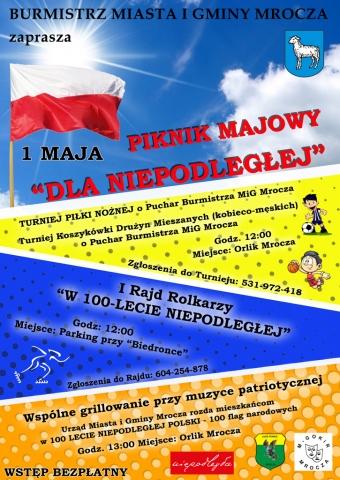 """Galeria dla Piknik Majowy """"Dla Niepodległej"""""""