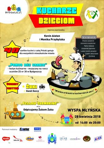 Galeria dla Festyn kulinarno-muzyczny: Kucharze dzieciom