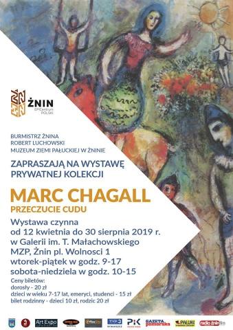 """Galeria dla Marc Chagall """"Przeczucie cudu"""""""