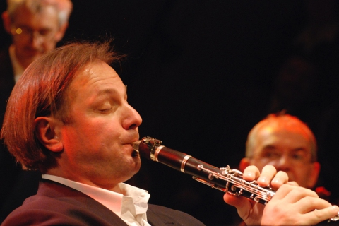 Woytek Mrozek klarnet solo, fot. arch Avip Produktion