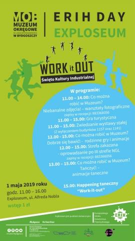 """Galeria dla Międzynarodowe wydarzenie Erih Day """"Work it Out"""" w Exploseum"""