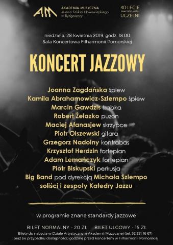 Galeria dla Wydarzenie impresaryjne - Koncert Jazzowy