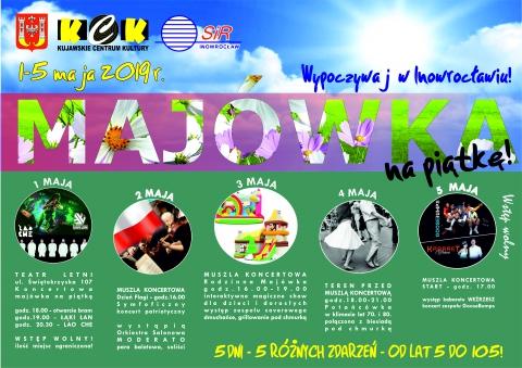 Galeria dla Majówka na Piątke - Kabaret i koncert na żywo